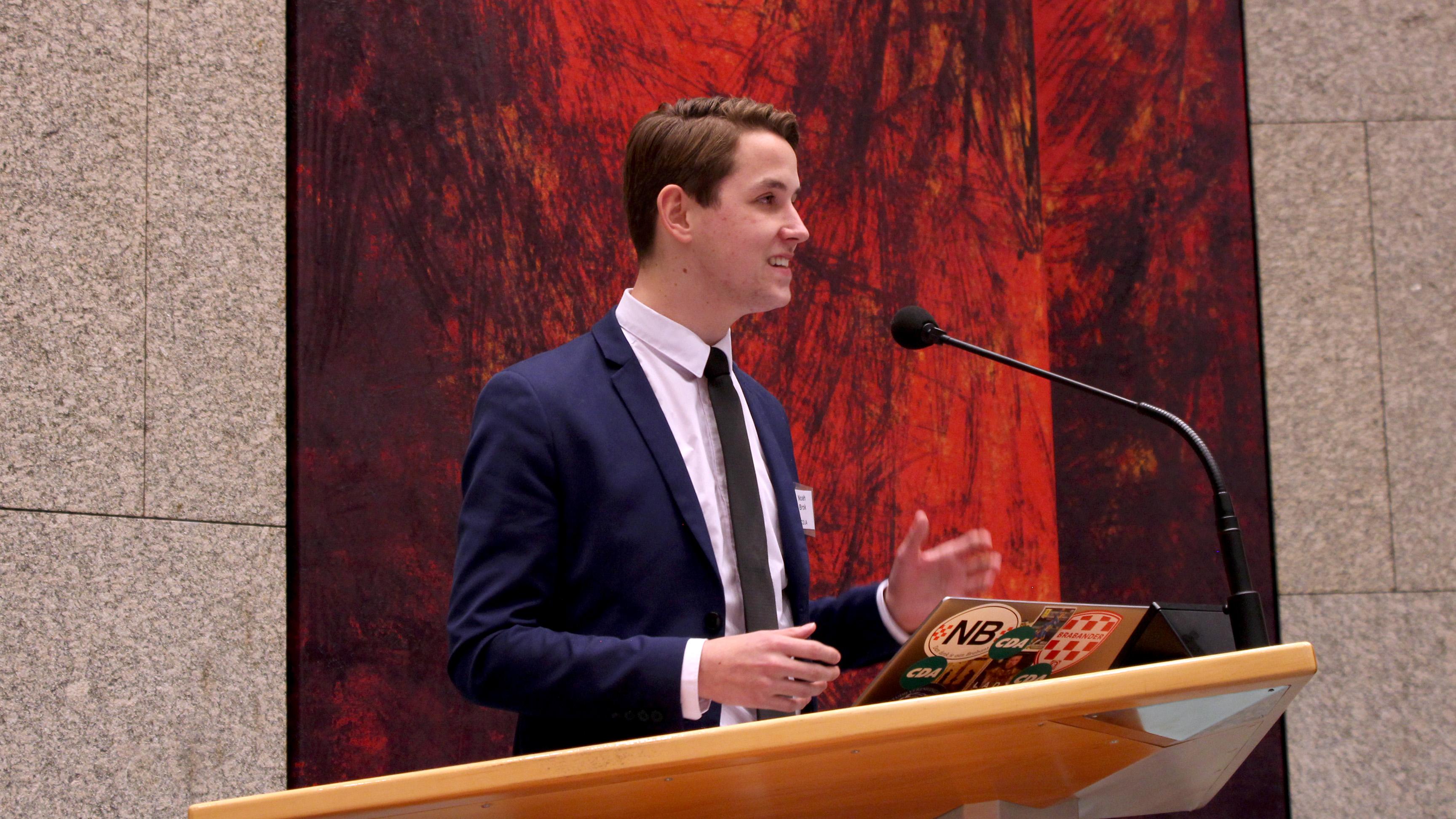 Interview kandidaat HRM & Communicatie: Noah Brok