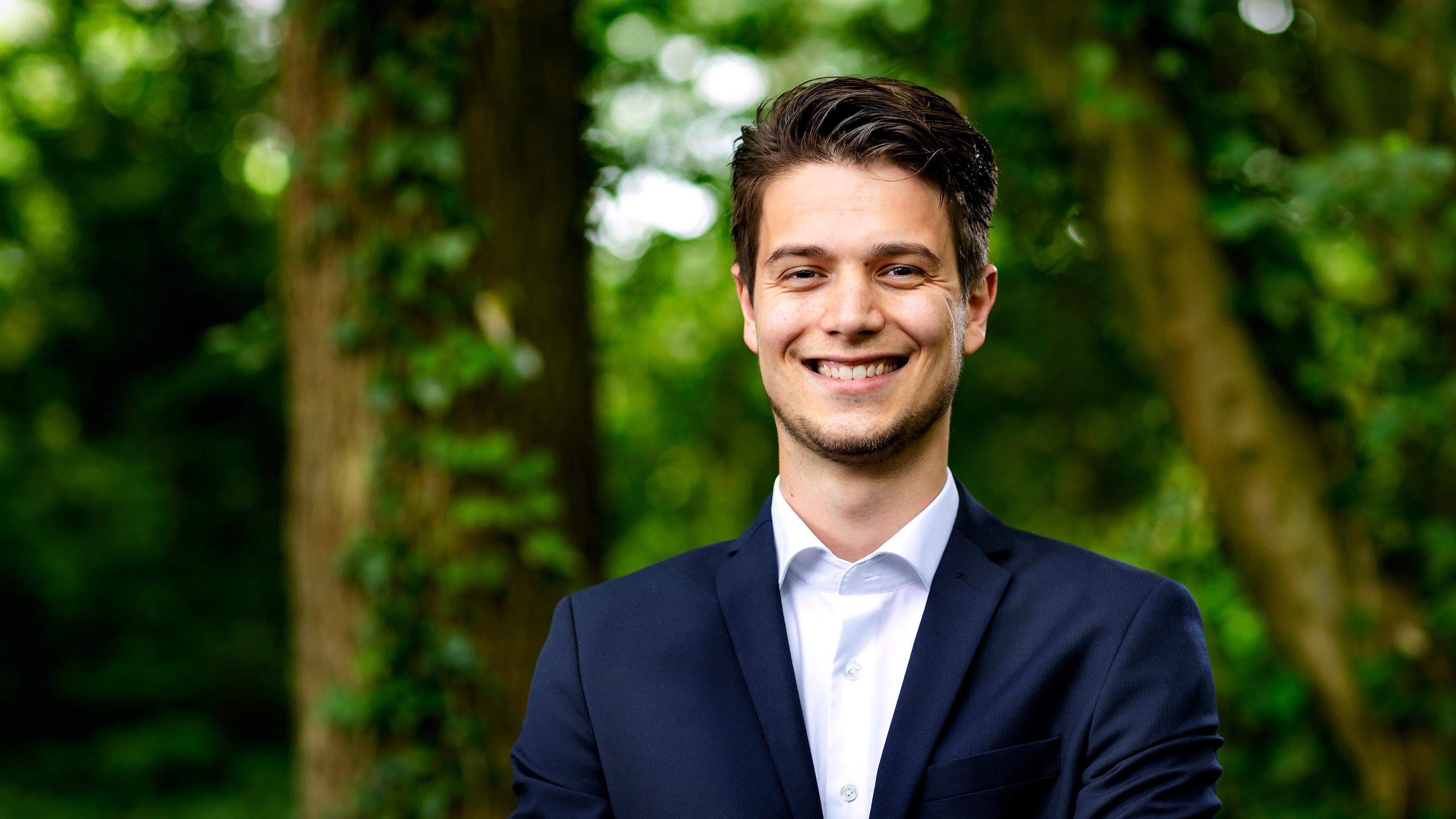 Interview kandidaat Penningmeester: Lennaert Rolloos